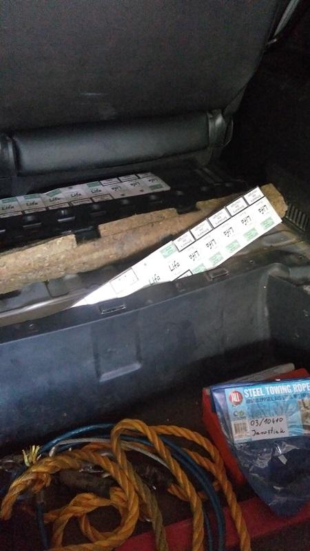 У Чопі через 800 пачок цигарок іноземець позбувся свого авто