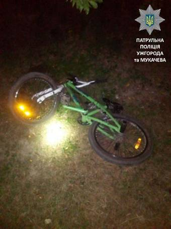 В Ужгороді патрульні затримали наркоманів на крадіжці велосипедів