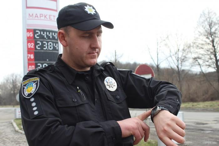Закарпатських поліцейських охорони перевірили на спритність