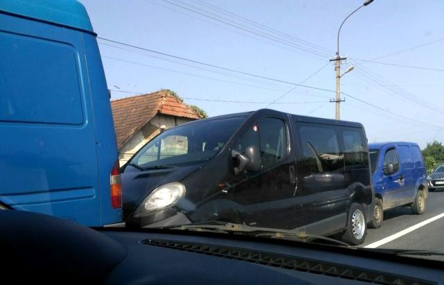 На Мукачівщині зіткнулися чотири авто