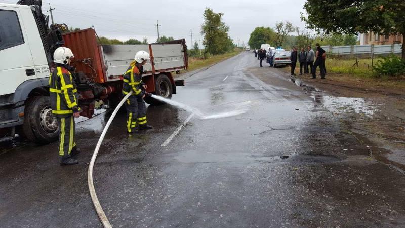 У ДТП на Хустщині одна людина загинула, ще троє травмувались