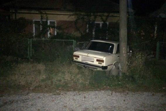 За вихідні поліція Закарпаття спіймала 18 п яних водіїв  один з них  врізався у електроопору 1e74138885710