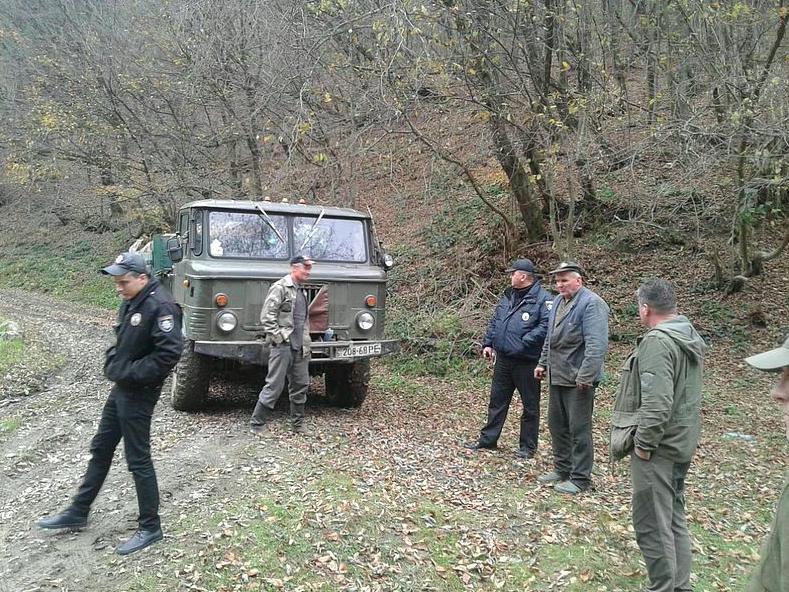У Закарпатській області зловили «чорних лісорубів». ФОТО