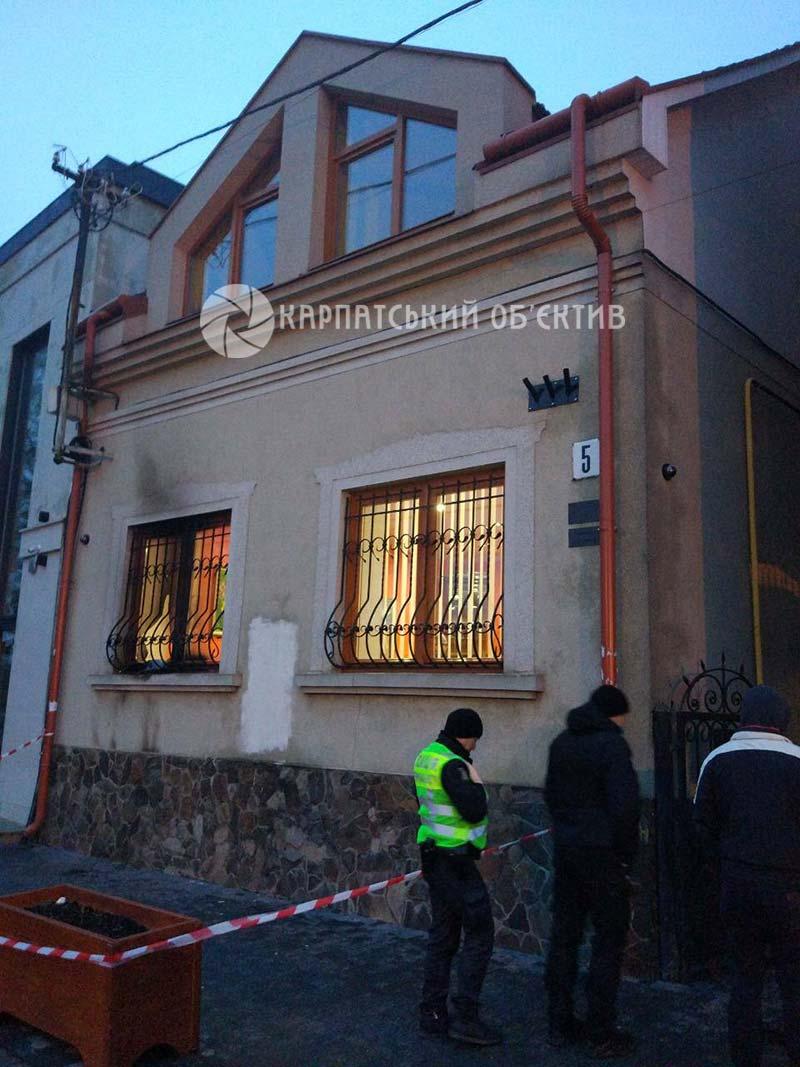Ужгородський офіс ГО «Товариство угорської культури Закарпаття» намагалися підпалити