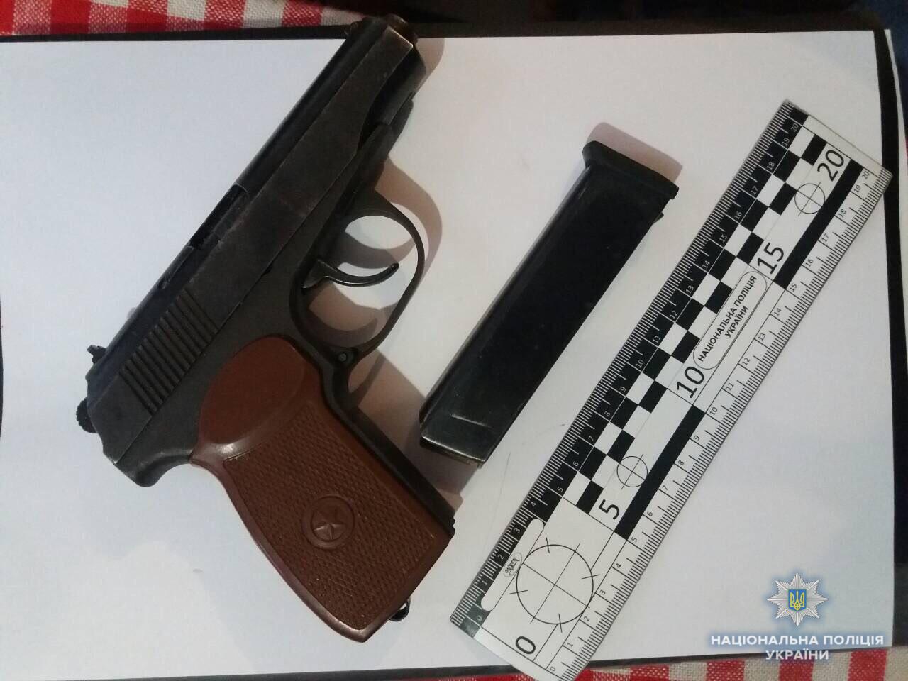 У двох мешканців Свалявщини вилучили зброю