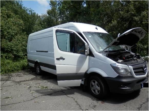 Румун намагався перевезти через Закарпаття мікроавтобус з підробленими документами