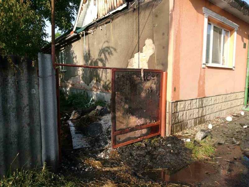 Приватні житлові будинки горіли на Закарпатті. ФОТО