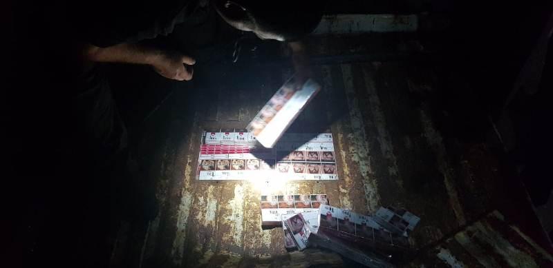 Черговий сховок з сигаретами виявили сьогодні вранці в пункті пропуску «Дякове»