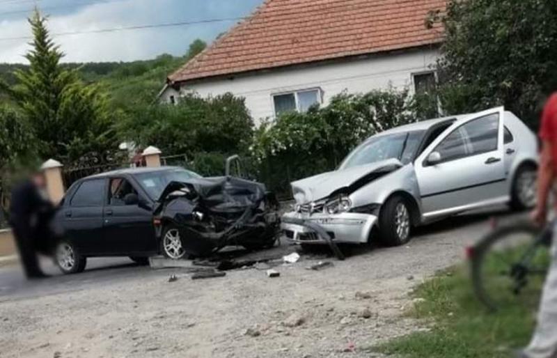 У Берегівському районі зіштовхнулися ВАЗ та Volkswagen