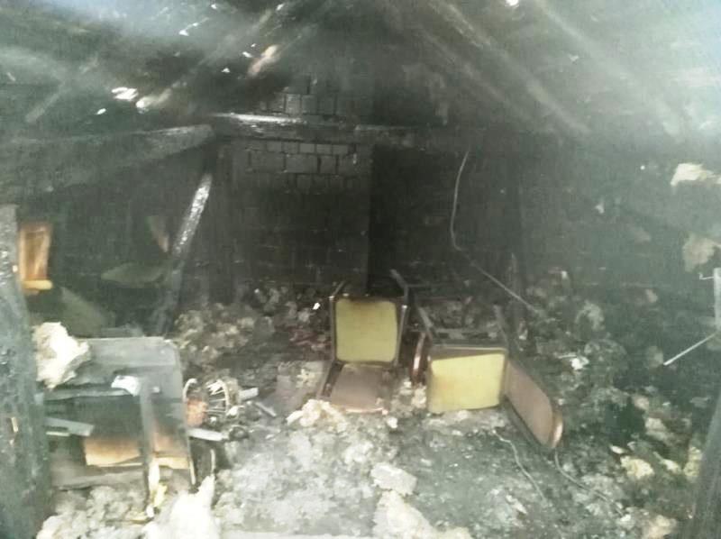 На пожежах минулої доби травмувалося двоє закарпатців. ФОТО