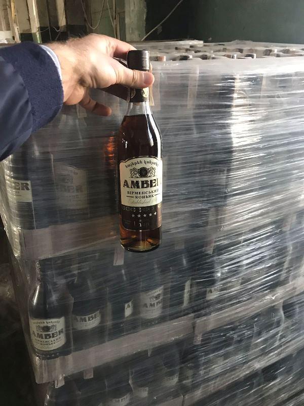 В Ужгороді вилучили партію алкогольної продукції вартістю більше 2 млн грн