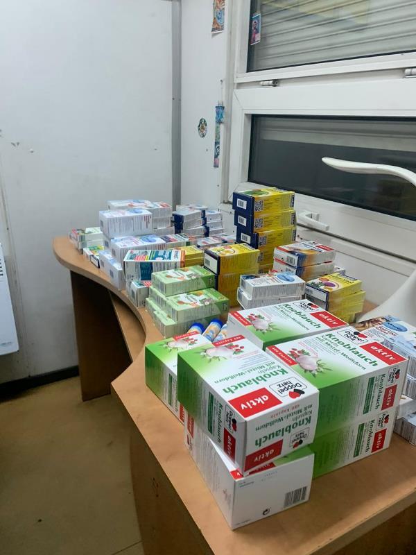 Закарпатець намагався ввезти в Україну цукерки та дієтичні добавки. ФОТО