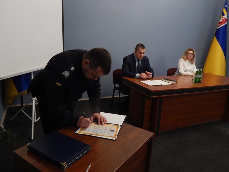 Служба судової охорони Закарпаття розпочала свою службу з прийняття під охорону Апеляційного суду