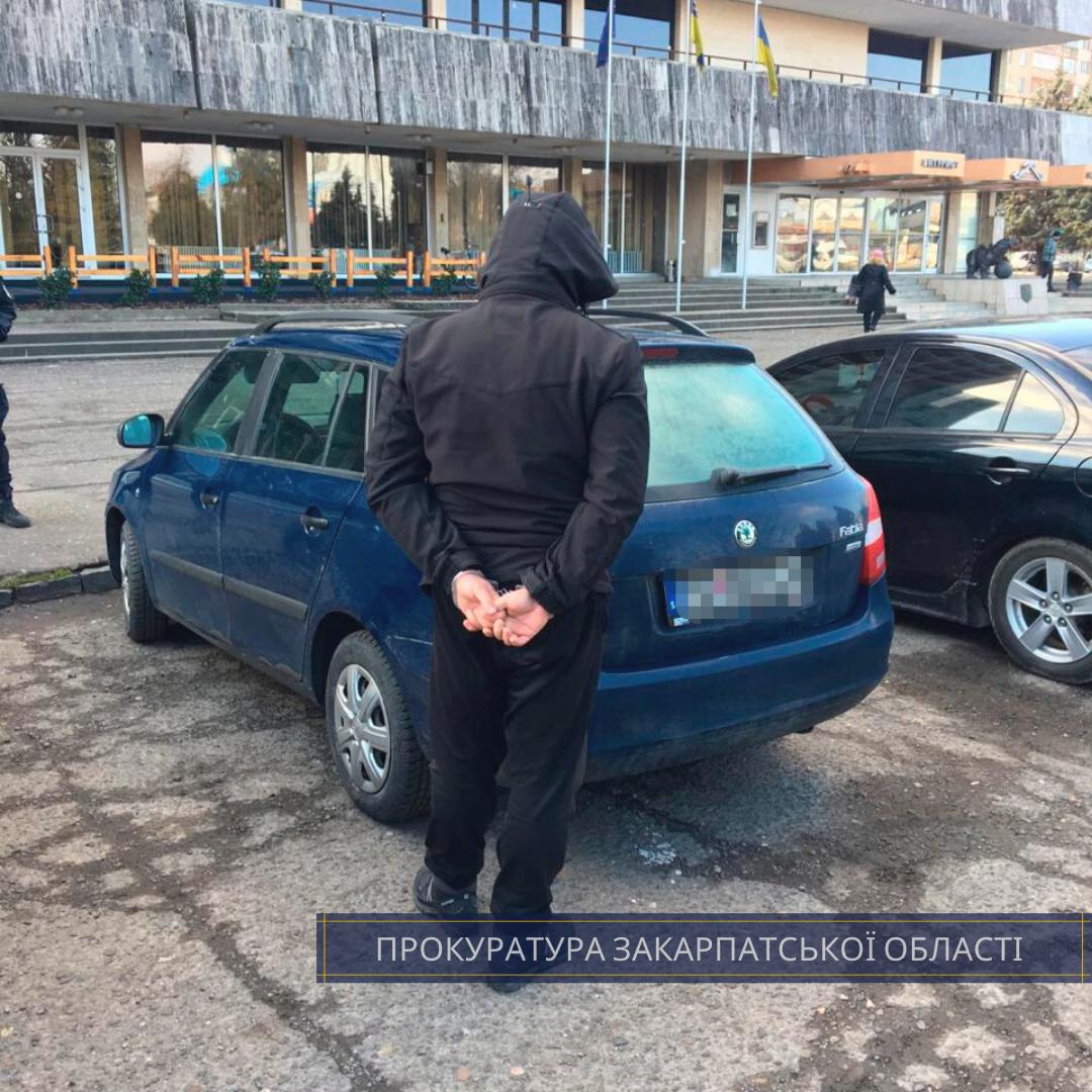 В Ужгороді правоохоронці виявили 2,2 кг метамфетаміну у автомобілі іноземця